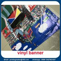 Quality 15 oz Backlit Hanging Vinyl Banners with Grommets for sale