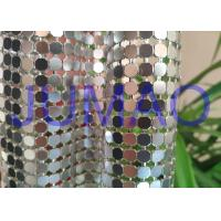 Quality Decorative Bling Aluminum Metal Sequin Fabric Light Silver With 4 Branches for sale