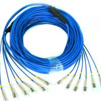 Best Single Mode / Multimode Fiber Patch Cable Electronic Link Fiber Optical Pigtail wholesale