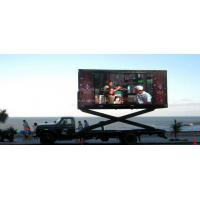 Best IP65 P8 Truck Mounted LED Screens Outdoor For Airport Station , DIP 7500CD wholesale