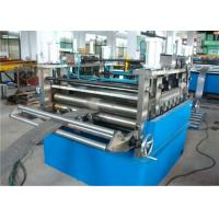 Heavy Duty Cable Tray Manufacturing Machine 1.2-2.0mm Thickness Gear Driver