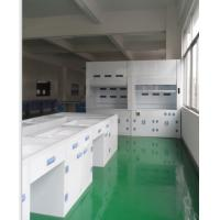 Quality PP Lab workBenches and Cabinetes With Reagnent Shelf,PP lab Water Faucet for sale