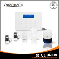 Buy Touch Keypad Wireless GSM Alarm System With Smart Door Sensor Support App at wholesale prices