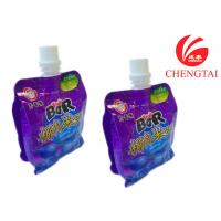 Quality Plastic Eco-Friendly Stand Up Pouch With Spout / Free Standing Bag Packaging for sale