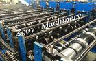 Quality Corrugated Metal Deck Roll Forming Machine With Cr12 Mov Cutting Models for sale