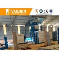 Quality Lightweight precast concrete wall panels construction material machinery for sale
