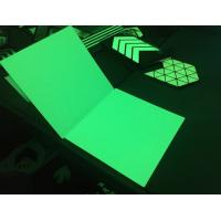 Buy cheap fotoluminiscente board Safety sign glow in the dark rigid board HHPRG-300 from wholesalers