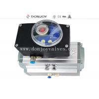Quality Aluminum  actuator with Intelligent C TOP-1561 control unit to feedback PLC for sale
