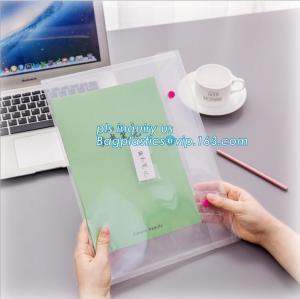 PP plastic clear file folder manufacturer, file document wallet folder with custom design, PP Suspension Hanging File Fo