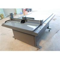Quality CNC Oscillating Knife Cloth Cutting Machine , Fabric Sample Cutter 1000 Mm/S for sale