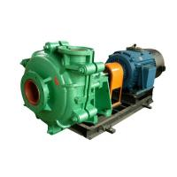 Quality Large Flow Capacity Sand Slurry Pump For Gold Mining / Coal Washing / Tailing for sale