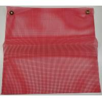 Buy cheap Keller Red 18 x18 Vinyl Coated Polyester Mesh Warning Flag from wholesalers