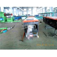 Quality Galvanized steel Rainwater / seamless Gutter Roll Forming Machine with Manual Cutting for sale