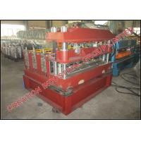 Quality Trapezoidal Profile Roof Sheet Curving Machine With Mitsubishi PLC Controller for sale