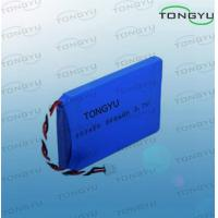 Best 3.7V 900mAh Rechargeable Lithium Batteries Flat Prismatic Shape For Medical Equipment wholesale