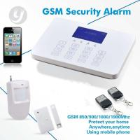 China 433MHz Wireless GSM Alarm System Auto Dial SMS Call Home Security System on sale