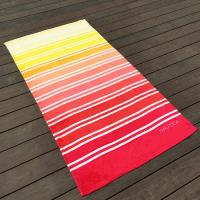 Buy Gradient Multi Color Printed Beach Towels Comfortable Touch Surface at wholesale prices