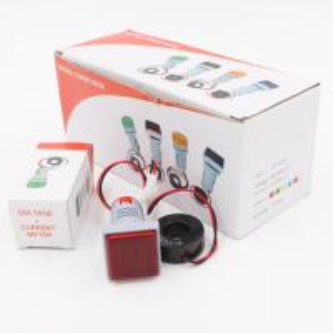 Quality 22mm Mini Digital AC Ammeter Panel Volt Meter LED Indicator Signal Warning Light Lamp for sale