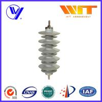 Substation Composite Metal Oxide Surge Lightning Arrester Lightweight Protection Device
