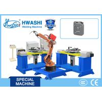 Buy cheap Metal Frame Industrial Welding Robots Hwashi MIG-TIG-ARC 3400W 12 Months from wholesalers