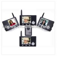 China Wireless Door Chime video intercom with large photo storage on sale