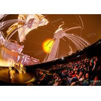 Quality Stimulate Immersive Experience 4D Dome Movie Theater For Shopping Mall for sale
