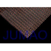 Quality Interior Woven Wire Architectural Metal Fabric Sun Protection For Railing for sale