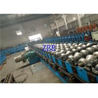 22KW Automatic Steel Plate Granary Silo Forming Machine 120mm Shaft Diameter
