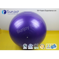 Buy cheap Fitness ball Anti Burst No Slip Yoga Balance Ball Exercise Pilates Yoga Ball with Quick Foot Pump customized log color from wholesalers