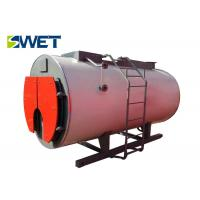 Quality Simple Structure Gas Fired Water Boiler, Safety Operation Industrial Water Boiler for sale