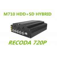 Quality 720P resolution Linux HD Mobile DVR HYBRID H.264 Compression for truck Buses for sale