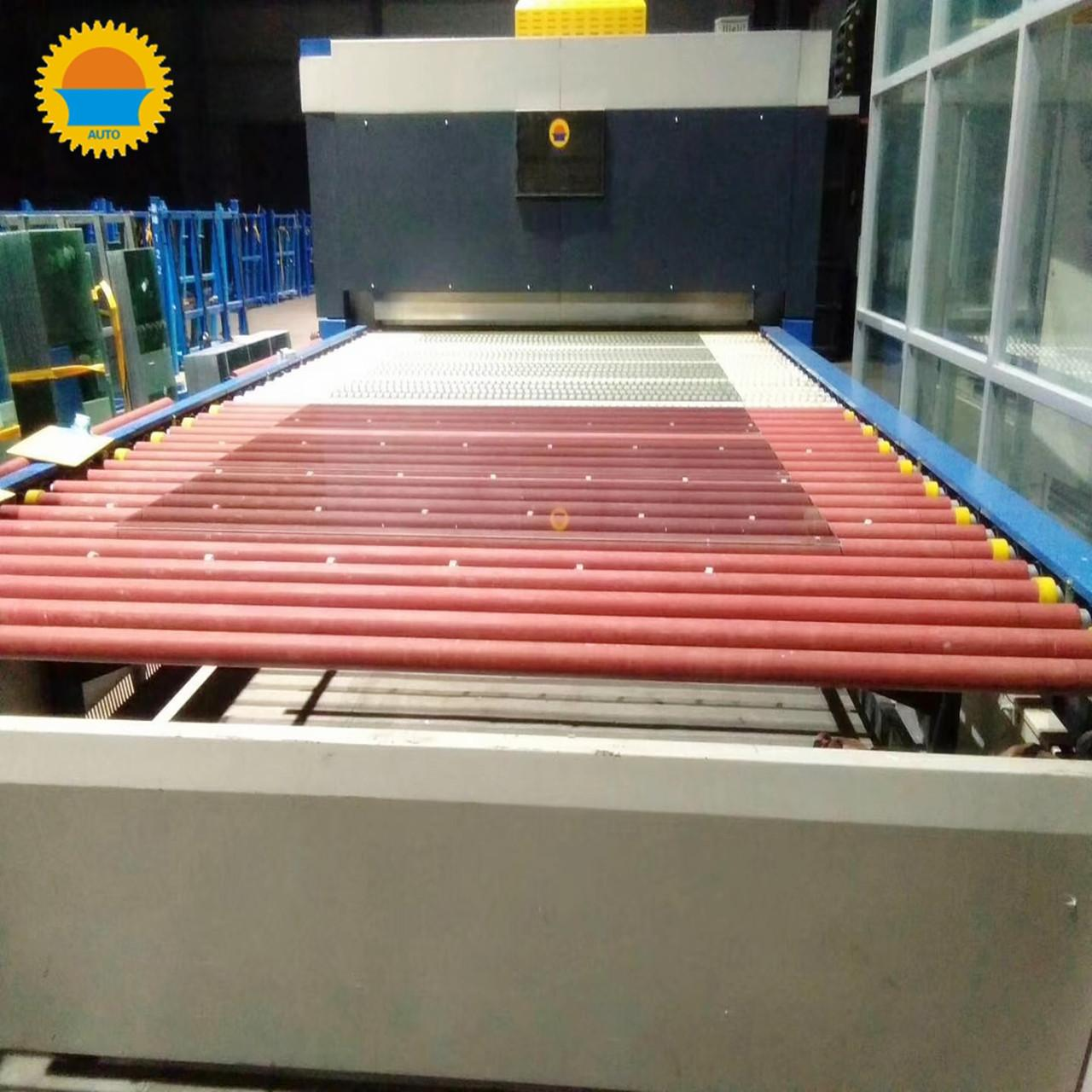 Quality Flat Glass Tempering Equipment / Tempered Glass Making Machine For Toughened Wind for sale