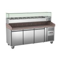 Quality Pizza Prep Counter PZ3600TN/380 , Door Are Easy To Change Into Drawers for sale