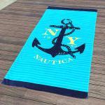 Best Hammam Stylish Beach Towel Digital Print For Personalized Pool Swimming wholesale