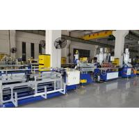 China High Speed Double Colors PC LED Tube Light Housing Extrusion Machine , 4-6m/min , Online Punching on sale