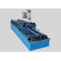 China Galvanized Sheet Steel Stud Roll Forming Machine Rust Proof Long Life Span on sale