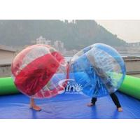 China Kids N adults TPU inflatable bubble soccer ball with quality harness from Sino Inflatables on sale