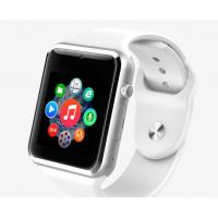 Quality Android  IOS Bluetooth Smart Wrist Watch Phone / Apple Smart Watches 350mAh Li-Polymer Battery for sale