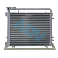 Quality Chinese Manufacturer Custom Design Aluminium Bar Plate Heat Exchanger For Construction Machinery Cooling for sale