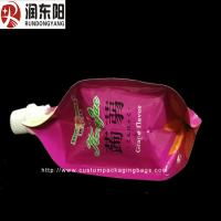 Buy Nozzle Custom Packaging Bags , Stand Up Plastic Drink Bag With Gravure Printing at wholesale prices
