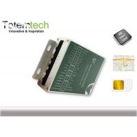 Quality IButton WCDMA AVL RFID GPS Tracking Systems For Fleet Management for sale