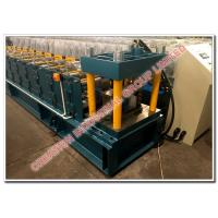 Quality Metal Rain Water Collecting Gutter Panel Cold Roll Former Production Line with 10 Years Rollers Warranty for sale