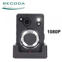 China Big Button Police Body Worn Camera Built - In Microphone Speaker For Law Enforcement on sale