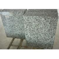 Quality Solid Surface Granite Stone Floor Tiles , Gray Natural Granite Stone Slabs for sale