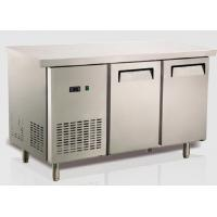 Quality Ventilation Cooling Stainless Steel Bench Fridge Restaurant Equipment Refrigeration US Type for sale