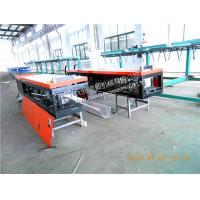 Quality Semi - automated Color Steel Rainwater Gutter Roll Forming Machine with limit switch for sale