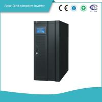 Buy cheap Smart Gird Interactive Solar Power Storage 3 Phase Inverter MPPT Solar from wholesalers