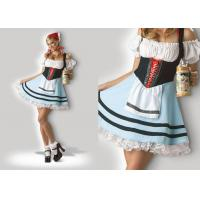 Quality Oktoberfest Girl 1039  Halloween Adult Costumes Cosplay Dress Clubwear With Scarf for sale