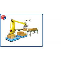 Quality Long Arm Stretch Robotic Palletizing System For Film Wrapped Product CE Approval for sale
