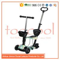 Quality chinese 3 wheel kids children multifunction 5 in 1 kick scooter for sale